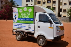 CleanSense branded vehicle